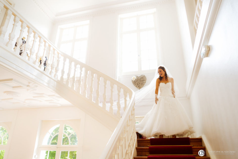 Préférence Superbe mariage au Château de Morbecque - Charline et Remy PR49
